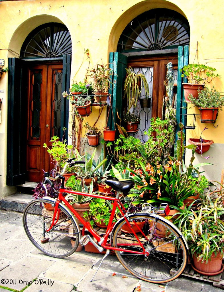 Lucca, Tuscany: city of bicycles
