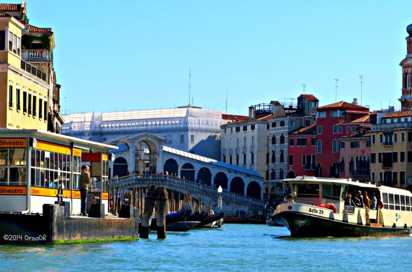 Rialto Bridge and Vaporetto