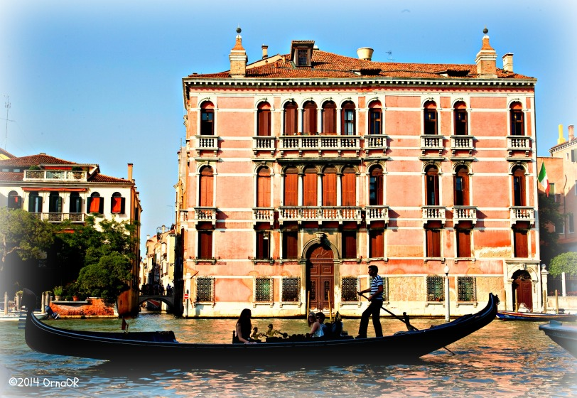 Grand Canal: Palazzo Fontana Rezzonico
