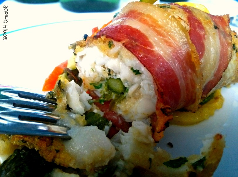 Plaice, Pancetta & Asparagus