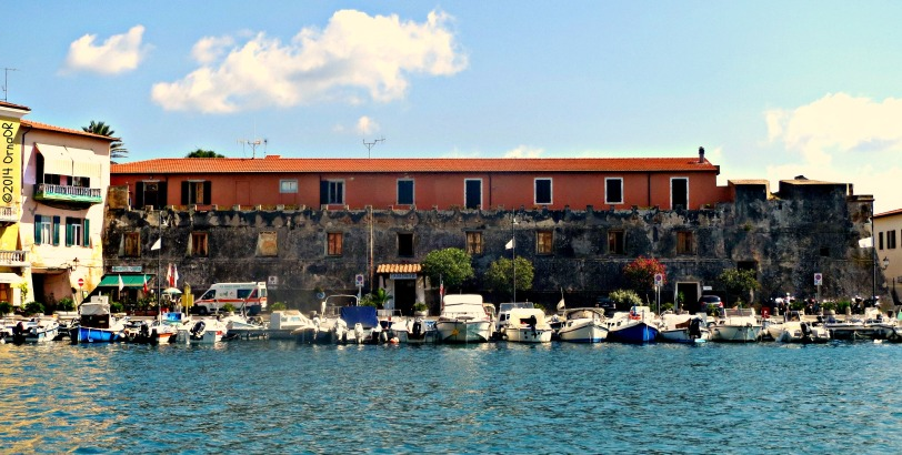 Portoferraio: down by the old port