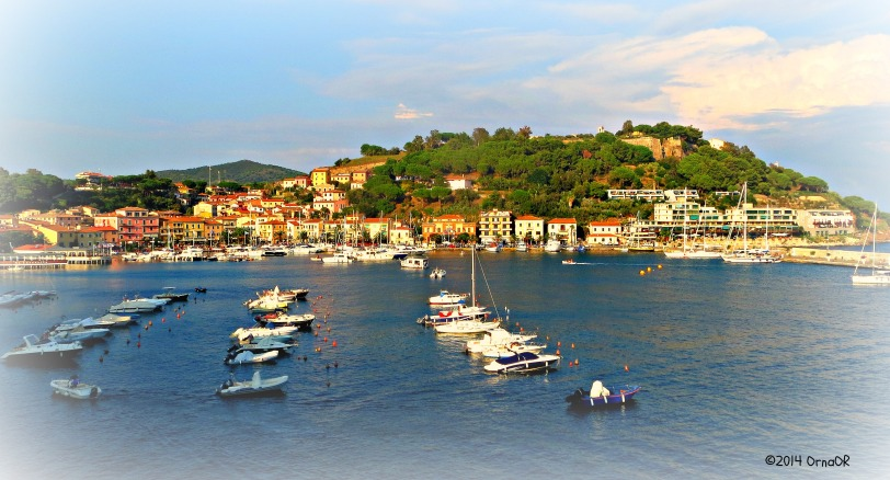 Port at Portoferraio, Elba