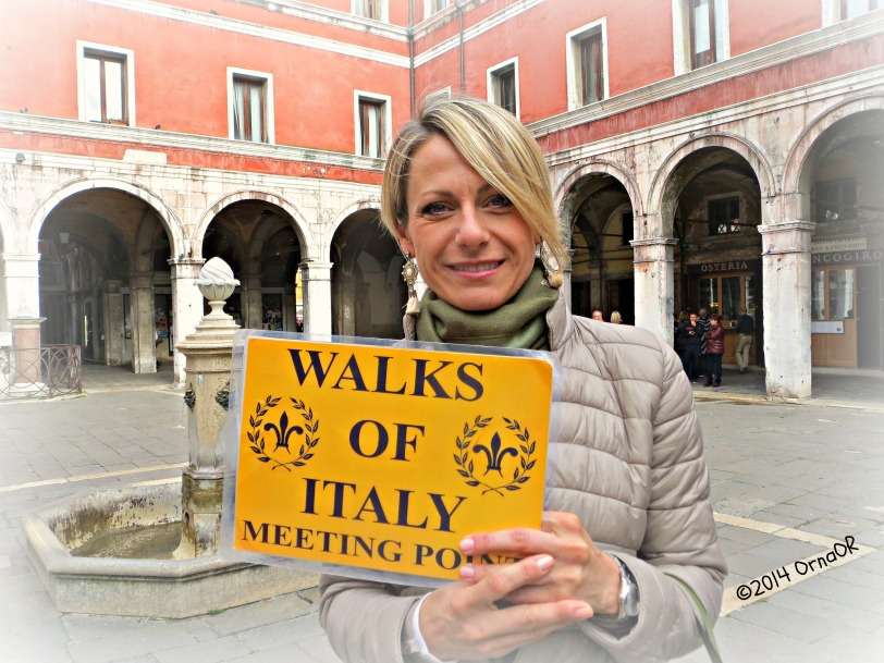 Our guide, Kristin, from Walks of Italy