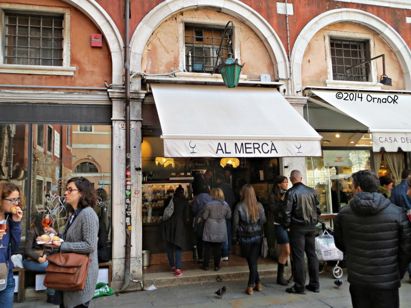 Eatery beside The Rialto market