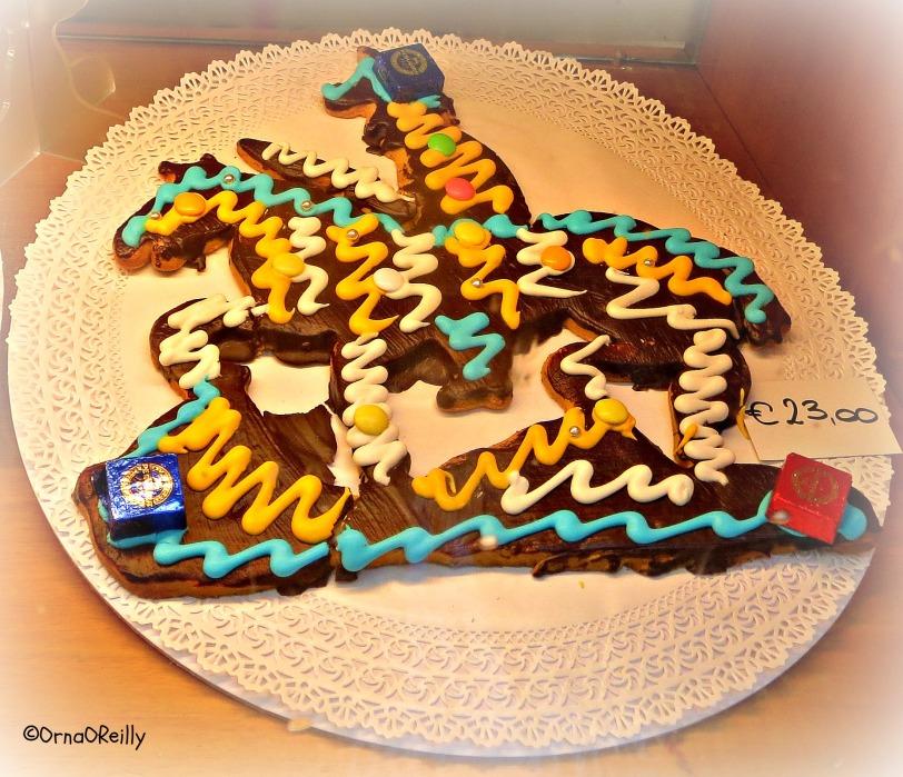 Special cake for San Martino
