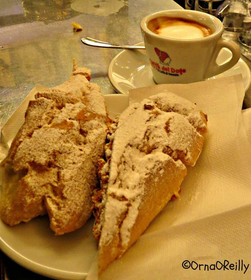 Venetian speciality for your Sugar Rush: Fiamma Zabajon