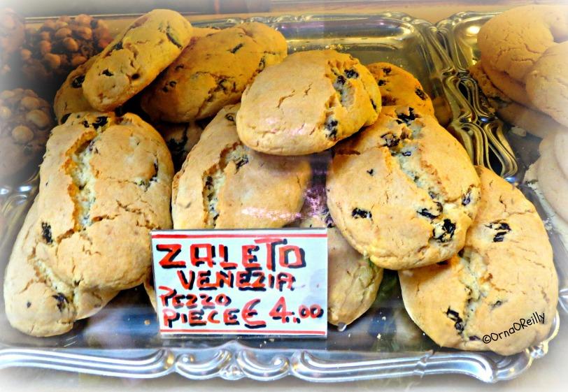Typical Venetian cakes: Zaleto Venezia