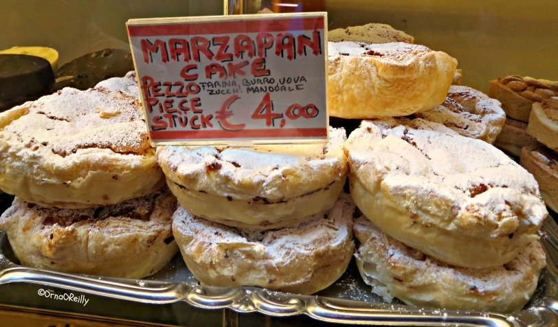 Typical Venetian Cakes: Marzipan