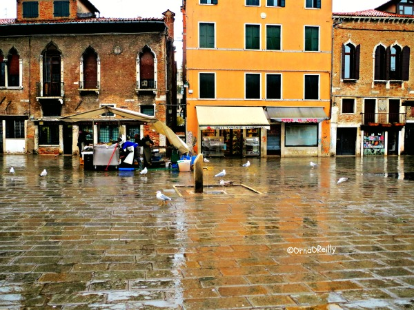 Venice during Alta Aqua