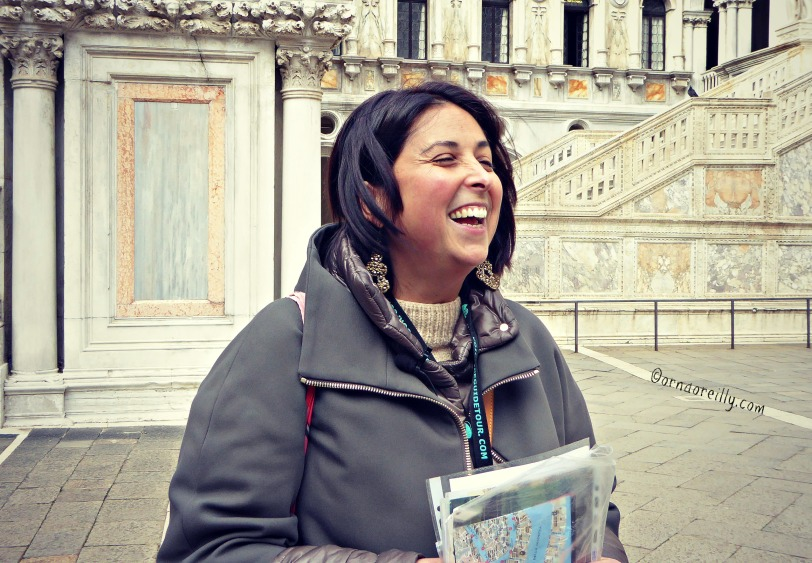 Federica, our guide