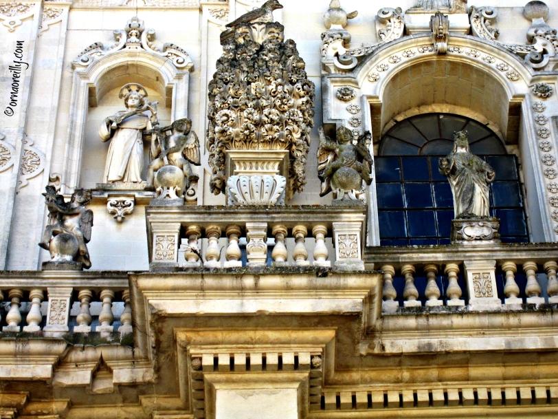 Detail Basilica del Rosario
