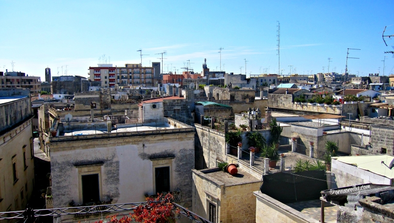 Rooftops of Lecce