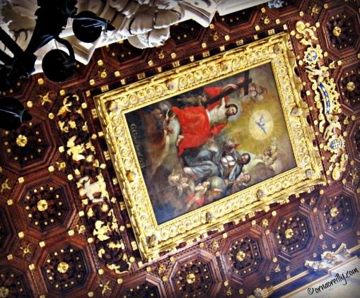 Ceiling in Santa Croce