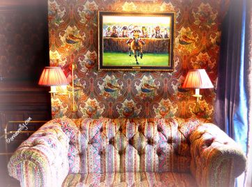 Cosy corner in the Billiard Room