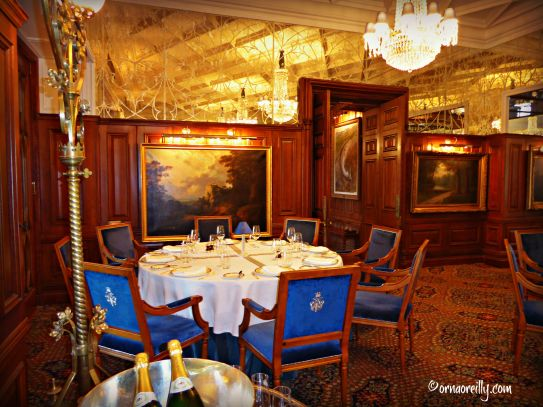 Ireland two nights at ashford castle orna o 39 reilly for George v dining room