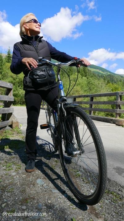 Me with my city bike