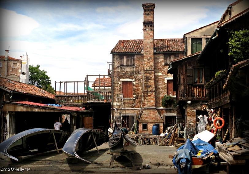 A gondola factory (squero)