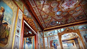 Interior of Caffe florian