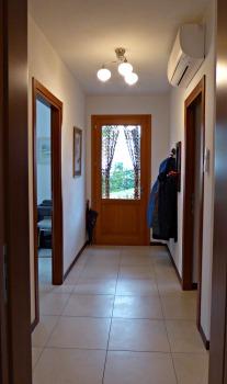 Hall to back door