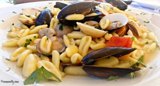 Cavatelli mussels clams