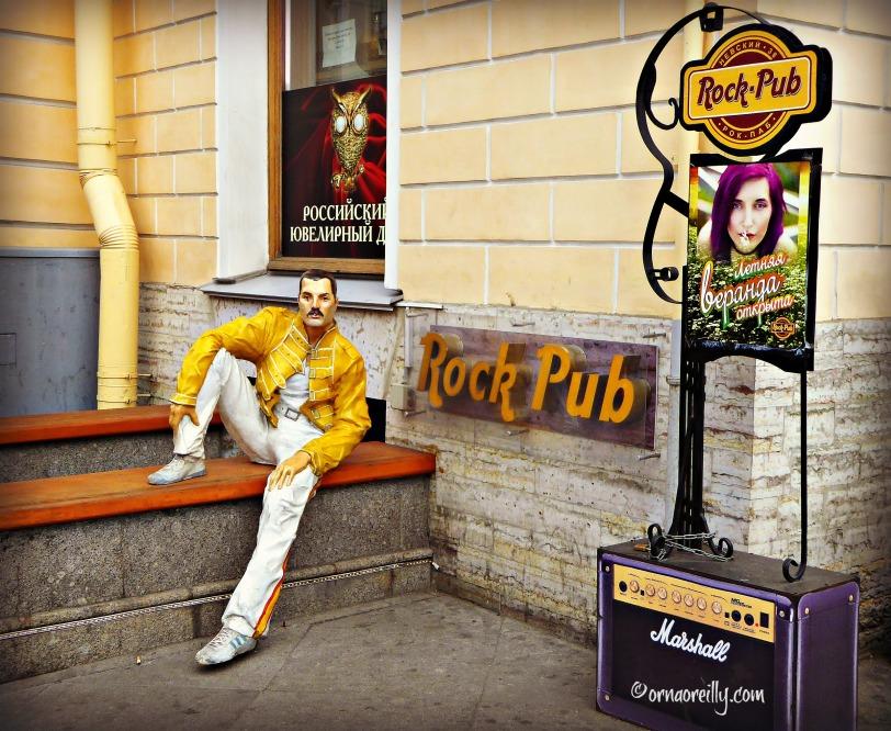 Freddie Mercury and the Rock Pub