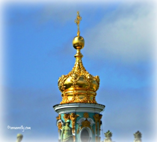 Golden Cupola on Winter Palace