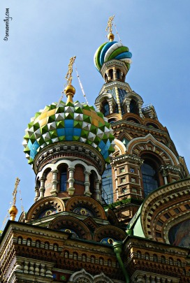 Detail from Church of the Spilled Blood