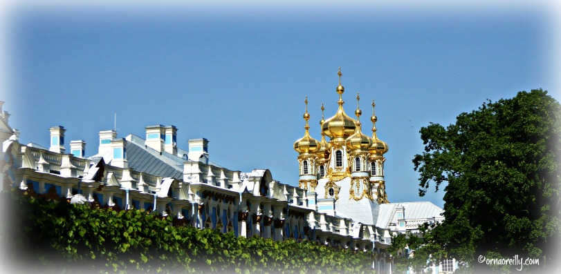 Catherine Palace from French Garden