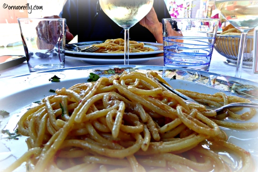 Pasta at Al Gatto Nero