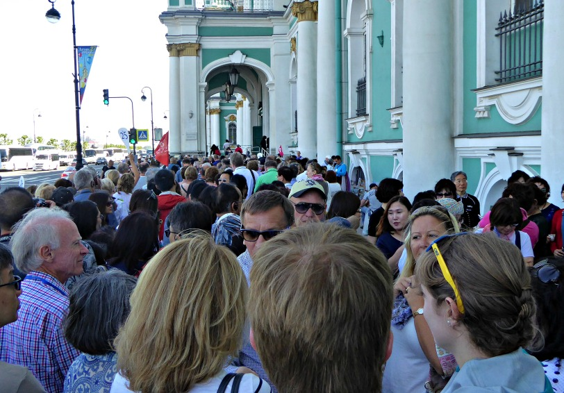 Queue for Hermitage Museum