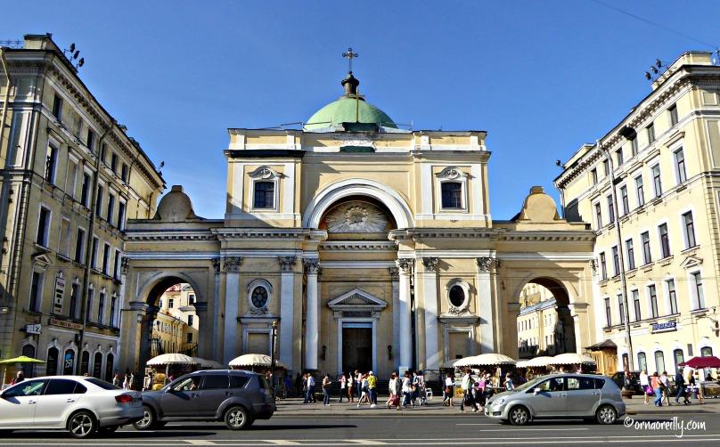 St. Catherine Catholic Church on Nevsky Prospekt