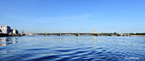 River Neva and Trinity Bridge