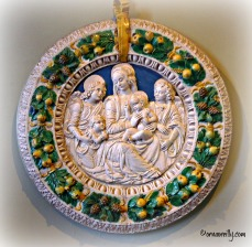 Della Robbia. Madonna and Child with the Saints Hermitage Museum