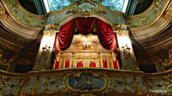 Private theatre. Yusupov Palace