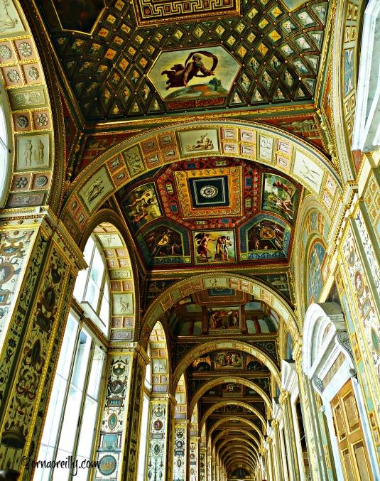 Hermitage Museum. Raphael Loggia