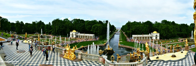 Peterhof. June 2016