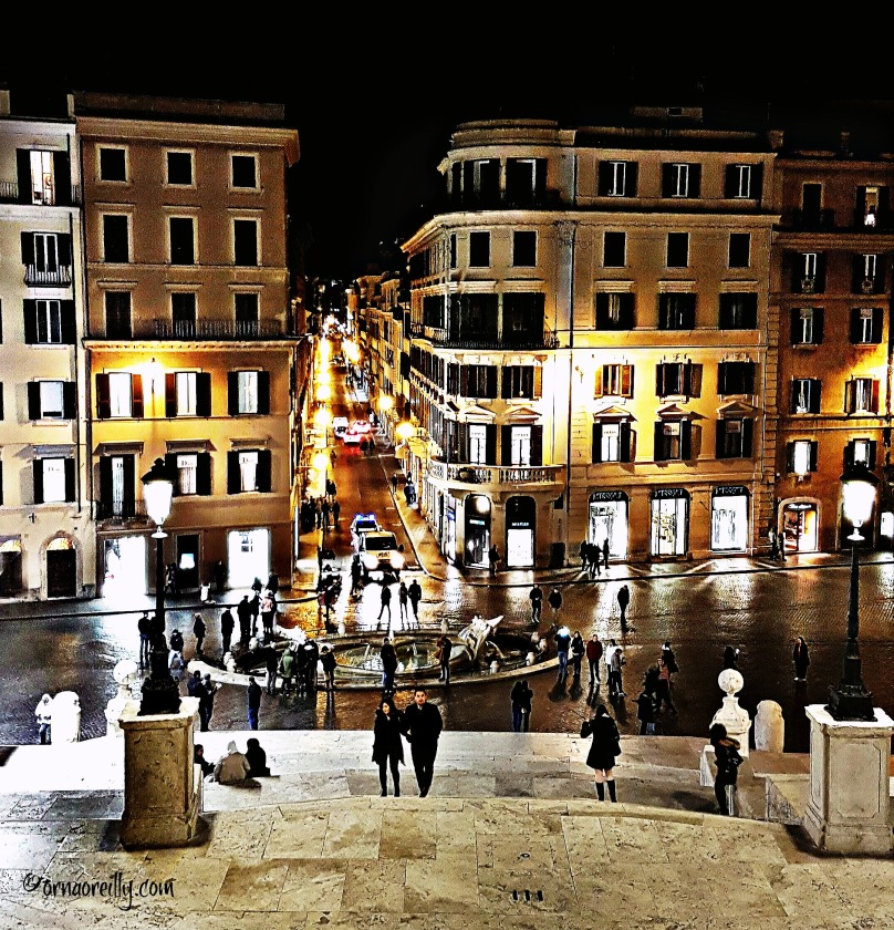 Spanish Steps: from the top