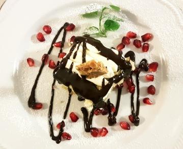 Dessert at Il Frantoio