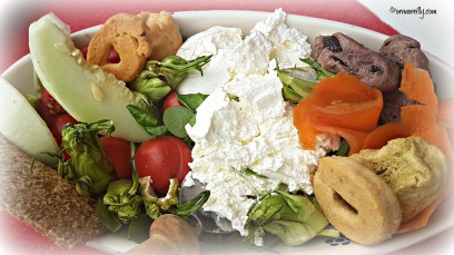 Ricotta salad at Coffee and More