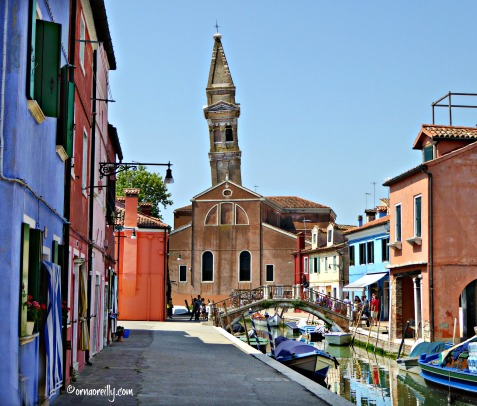 Leaning tower of Burano