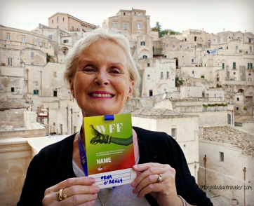 During the Womens Fiction Festival in Matera