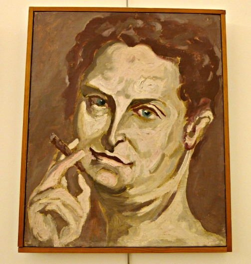 Carlo Levi. Self portrait 1949