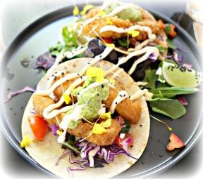 Fish Tacos at Guru Life