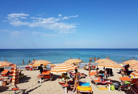 Torre Canne in summer