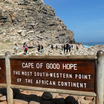 Marker for Cape of Good Hope
