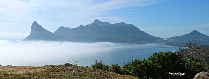 View from Chapman's Peak Drive.