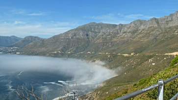 View from Chapman's Peak Drive. Hout Bay