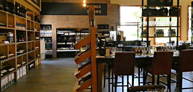 Franschhoek Cellar. Wine tasting room