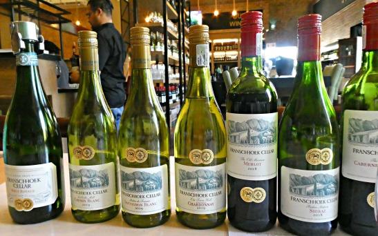 Wine tasting. Franschhoek Cellar